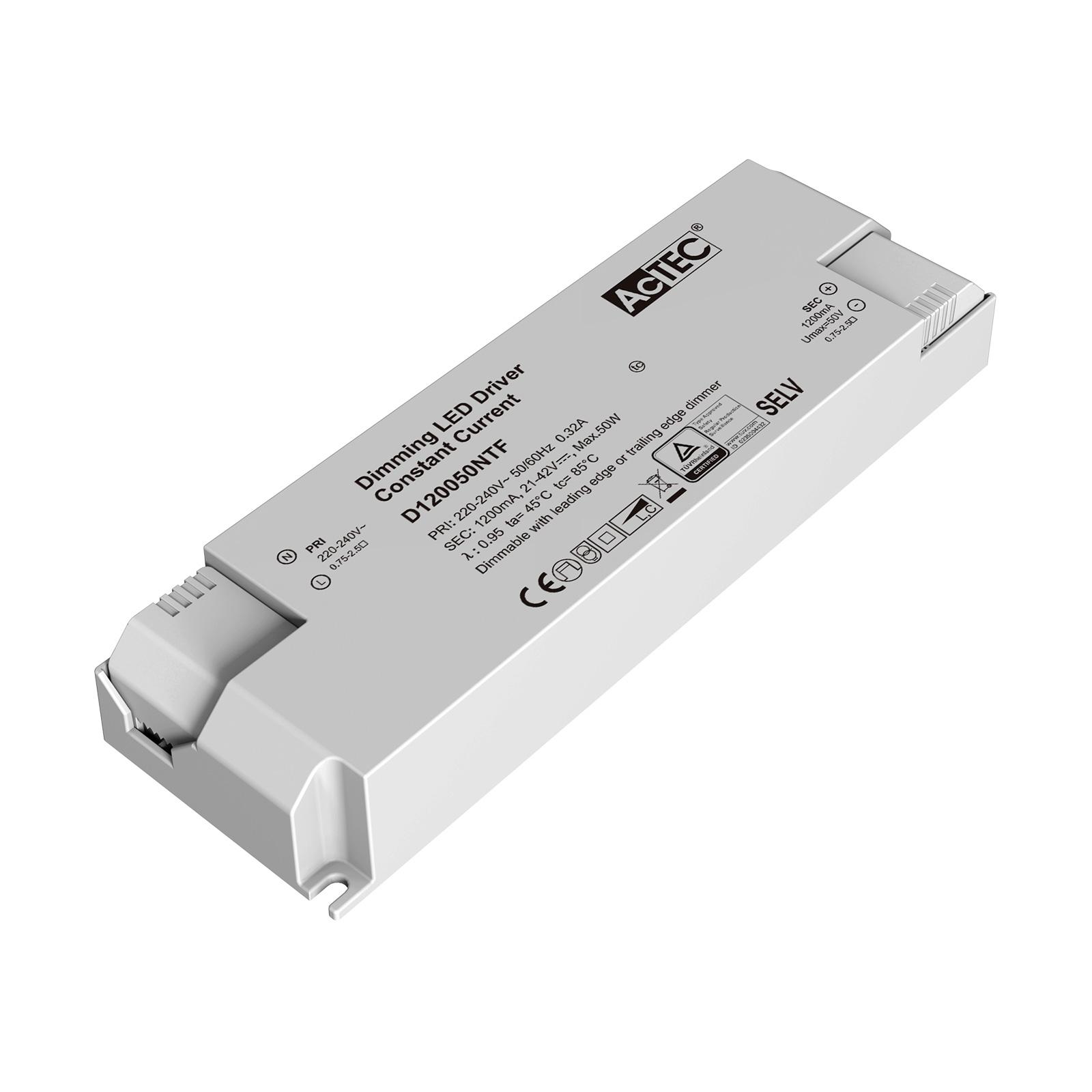 AcTEC Triac LED-Treiber CC max. 50W 1.200mA