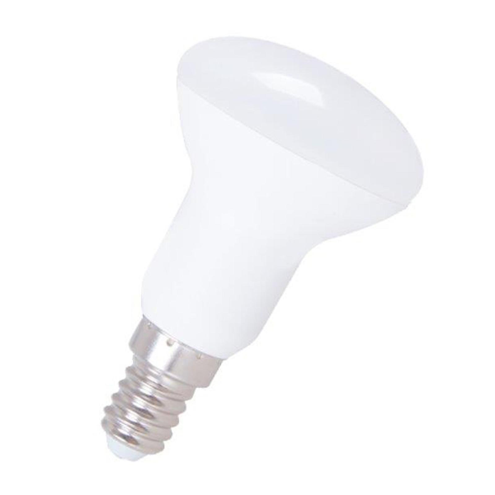 Żarówka refl LED 120° E14 5 W R50 830
