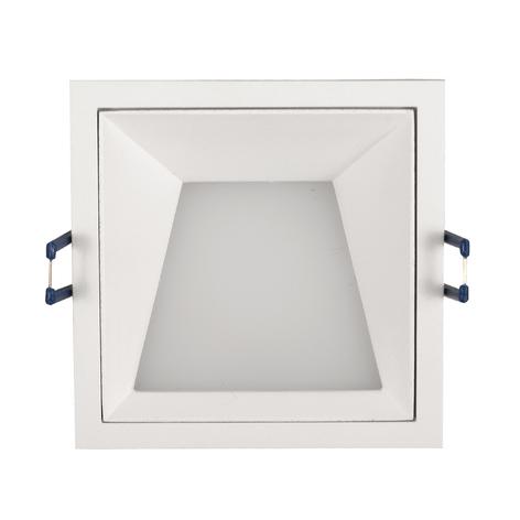 Lampe encastrée Kris cadre 3000K symétrique