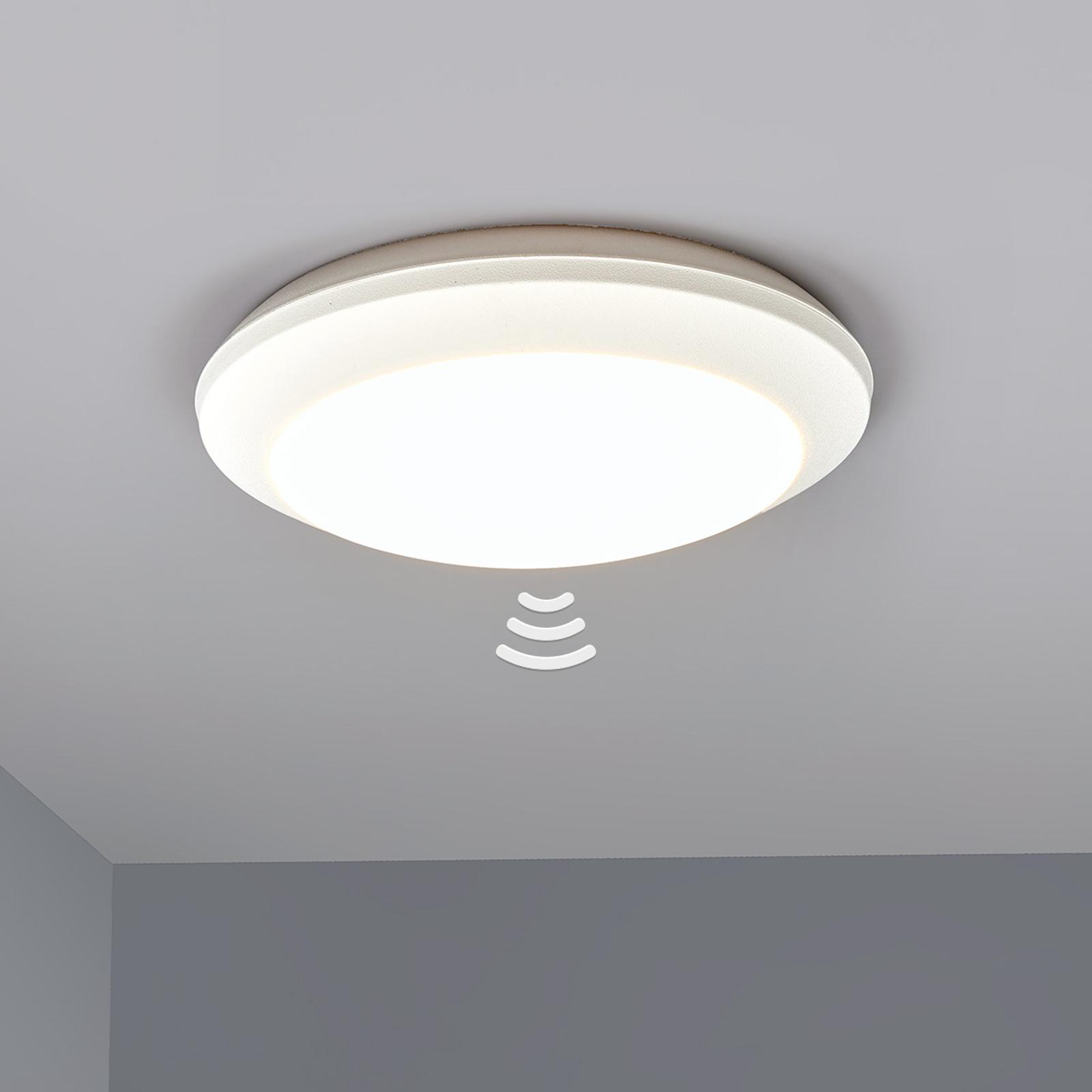 Sensor plafondlamp Umberta 2xE27 wit