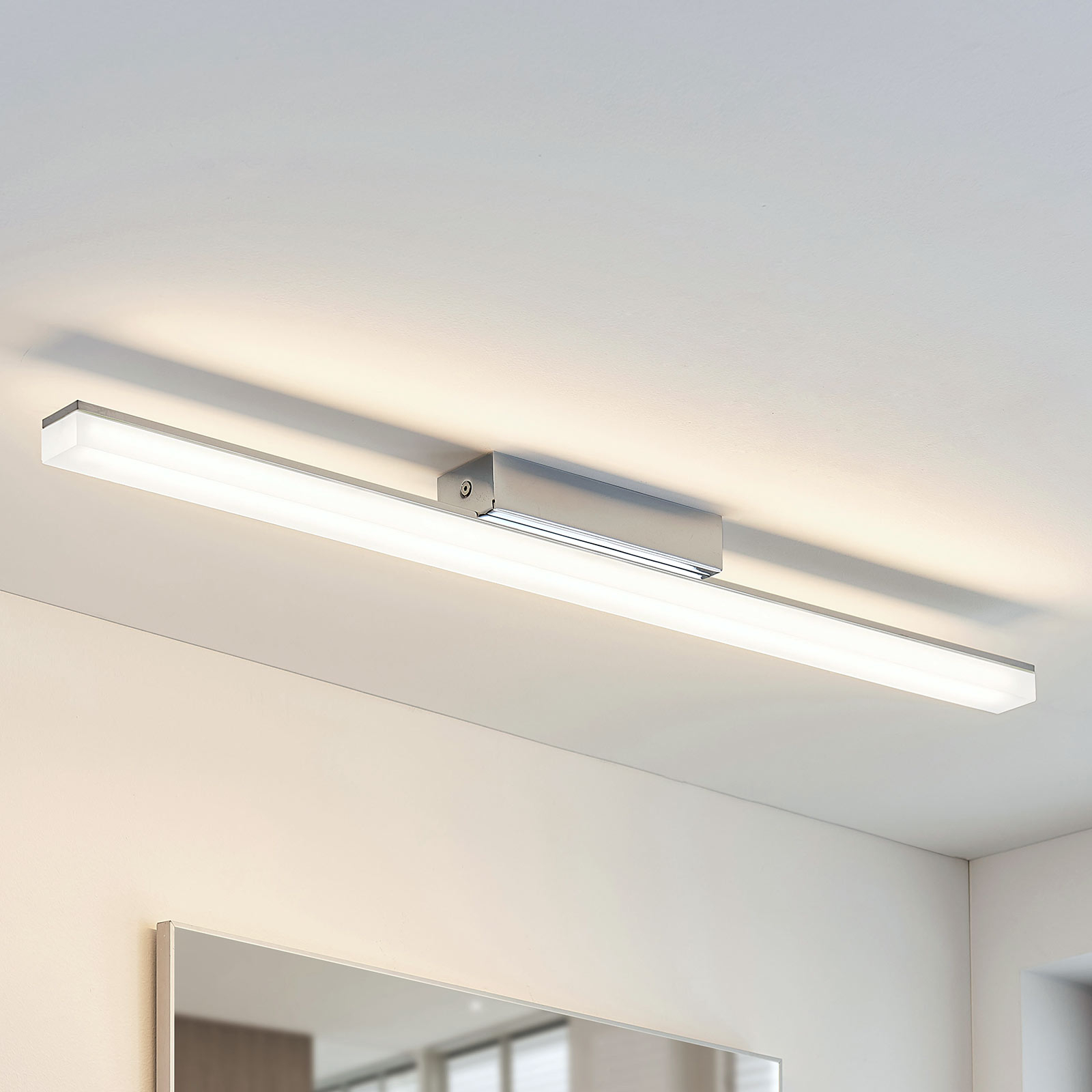 Łazienkowa lampa sufitowa Levke z LED, IP44