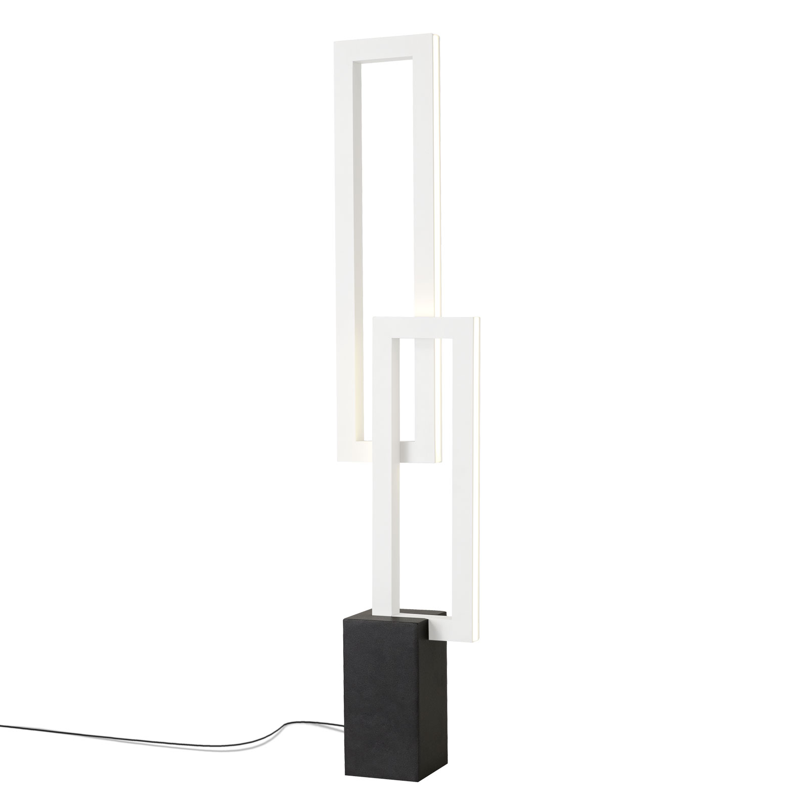 Lampe à poser LED Mural angulaire, blanc