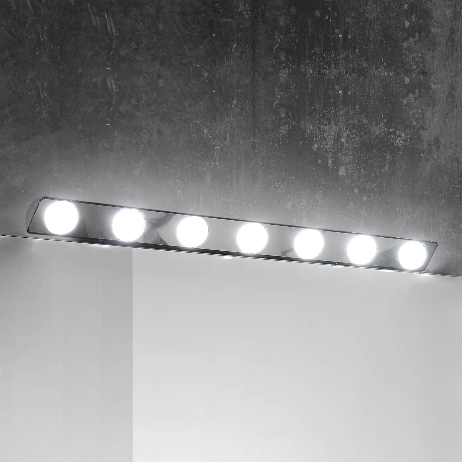 Applique pour miroir LED Hollywood, 85cm 7 lampes