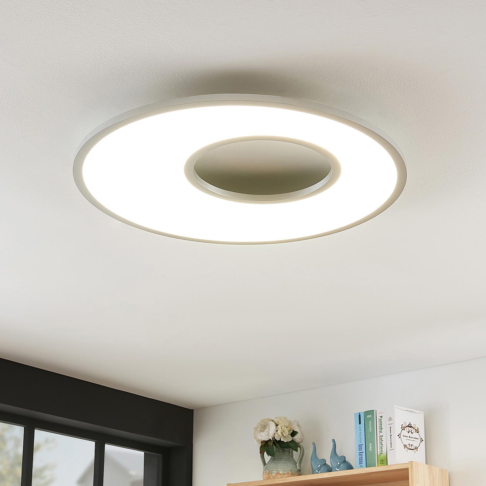 LED stropní svítidlo Durun, kulaté, 60 cm