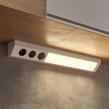 Arcchio Ekam LED-Unterbaulampe, USB, silber