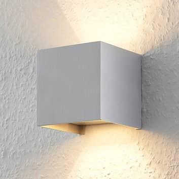 Zuzana - hliníkové nástěnné světlo s LED G9