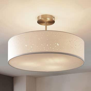 Plafondlamp Umma met afstand, wit