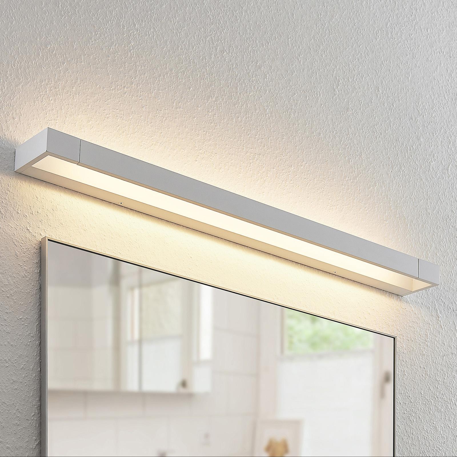 Arcchio Jora kinkiet LED, IP44, biały, 90 cm