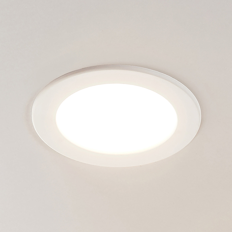LED-indbygningsspot Joki hvid 3000K rund 17cm