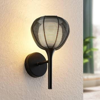 Lucande Tetira burvägglampa, svart