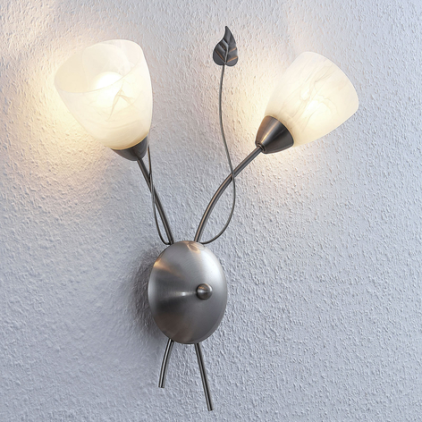 Lindby Yannie aplique LED, 2 luces