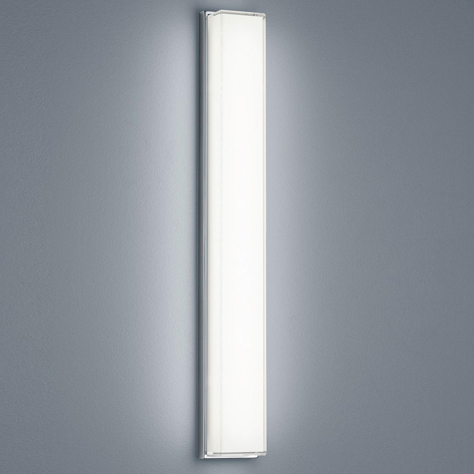 Helestra Cosi LED wandlamp chroom hoogte 61 cm