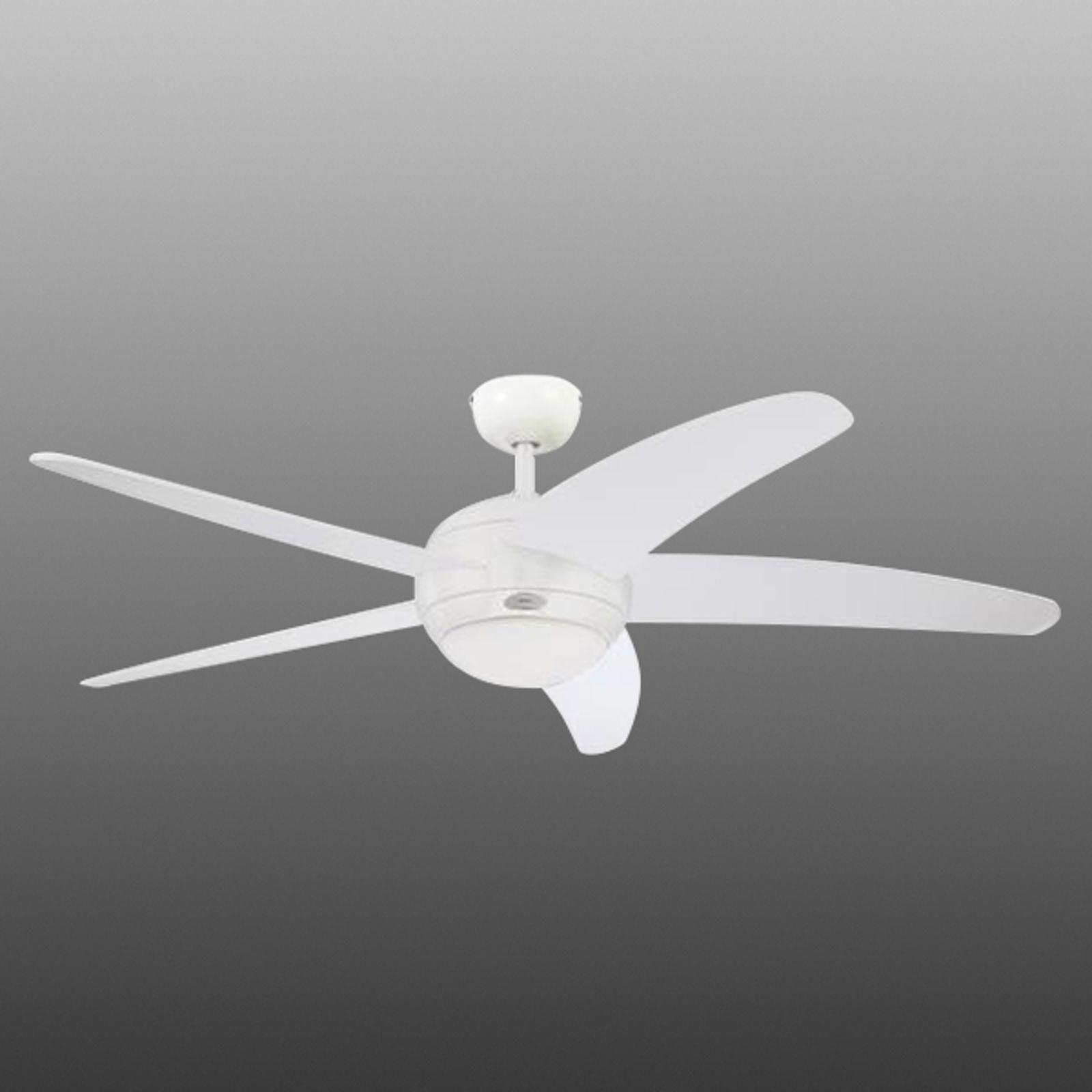 Ventilatore da soffitto Bendan, 5 pale con luce