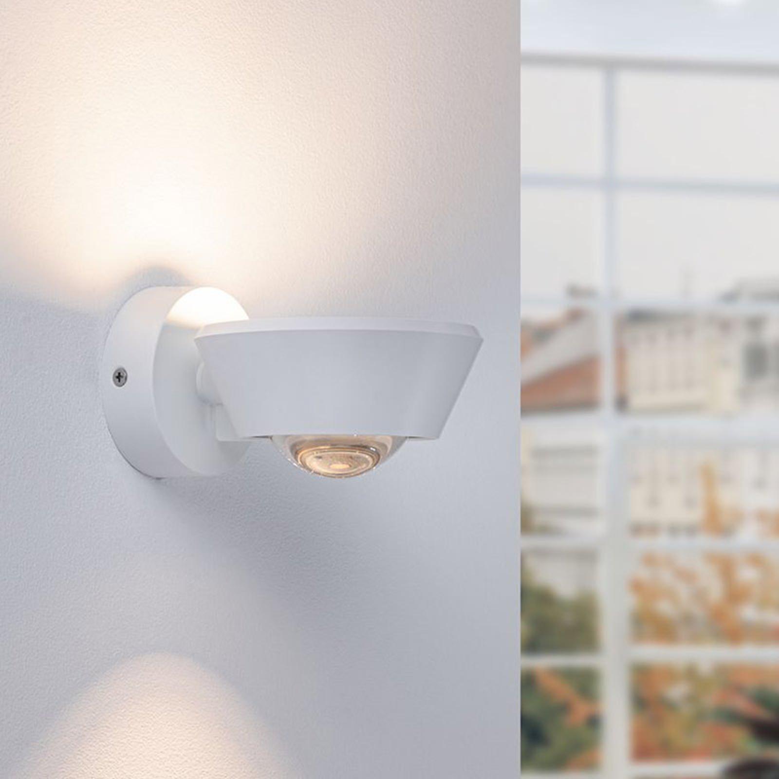 Paulmann Sabik LED-vägglampa vit matt