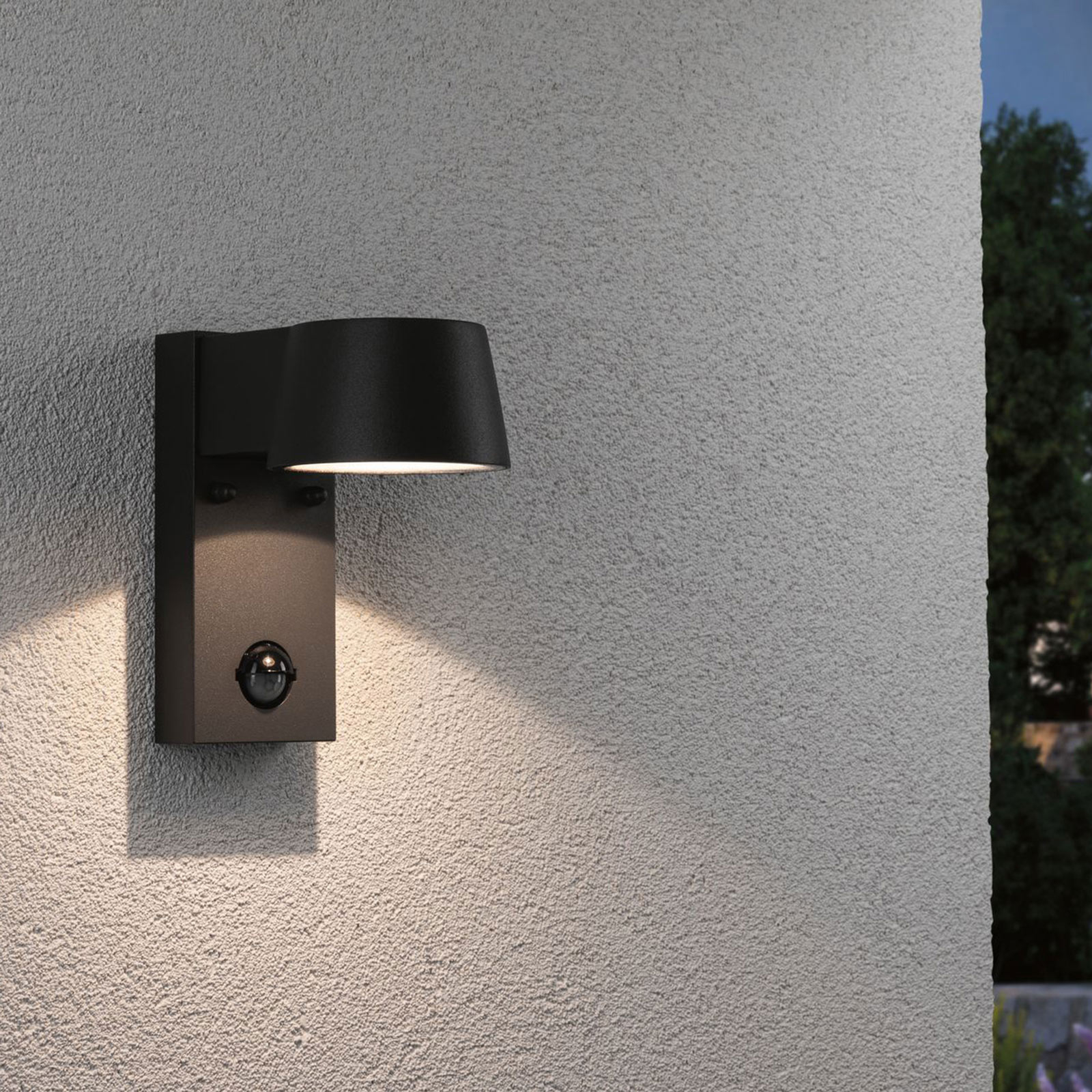 Paulmann Capea LED-Außenwandlampe mit Sensor