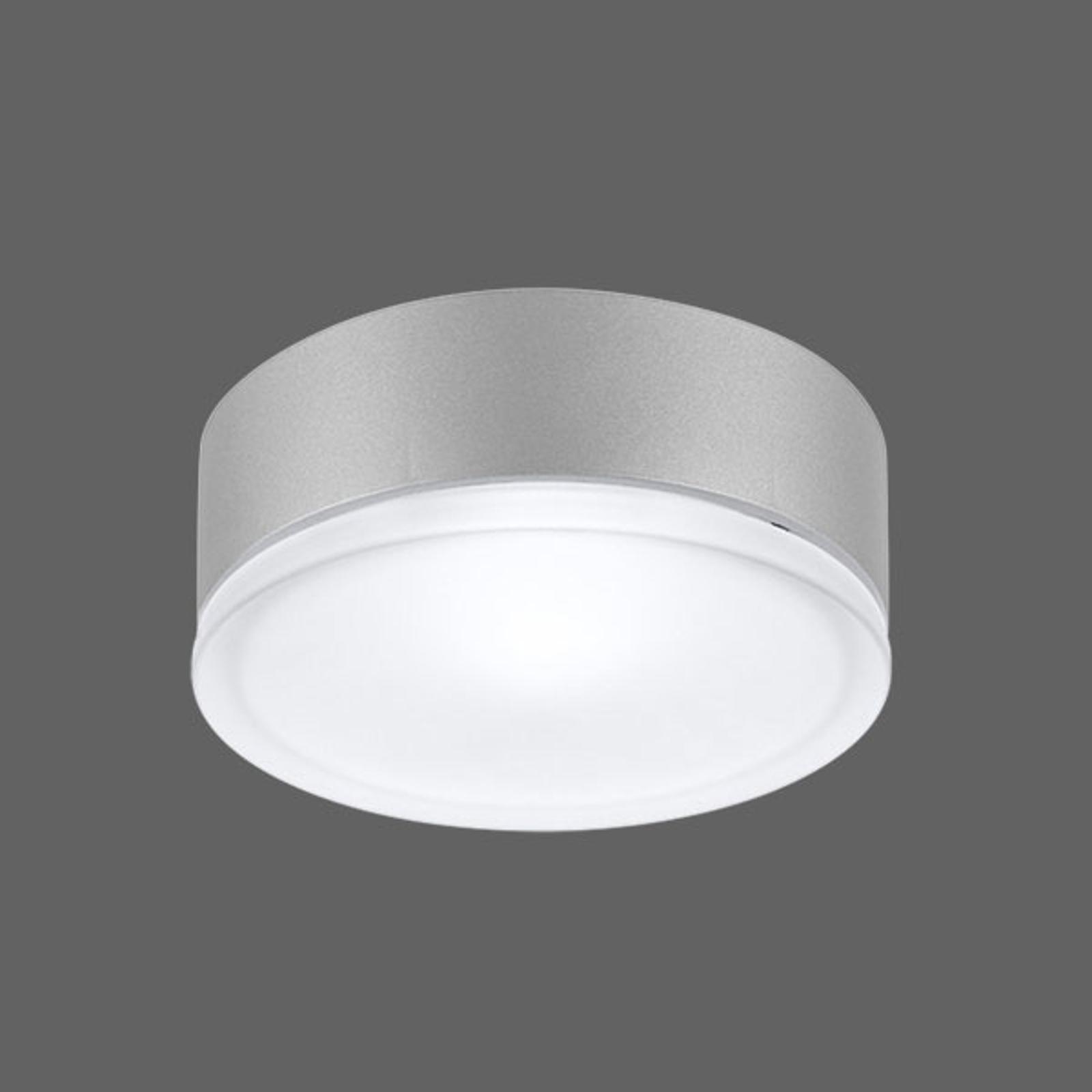 Effektiv vegglampe Drop 22 LED grå 4000K