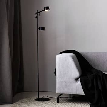 Lampa stojąca LED Clyde, 2-punktowa, ściemniacz