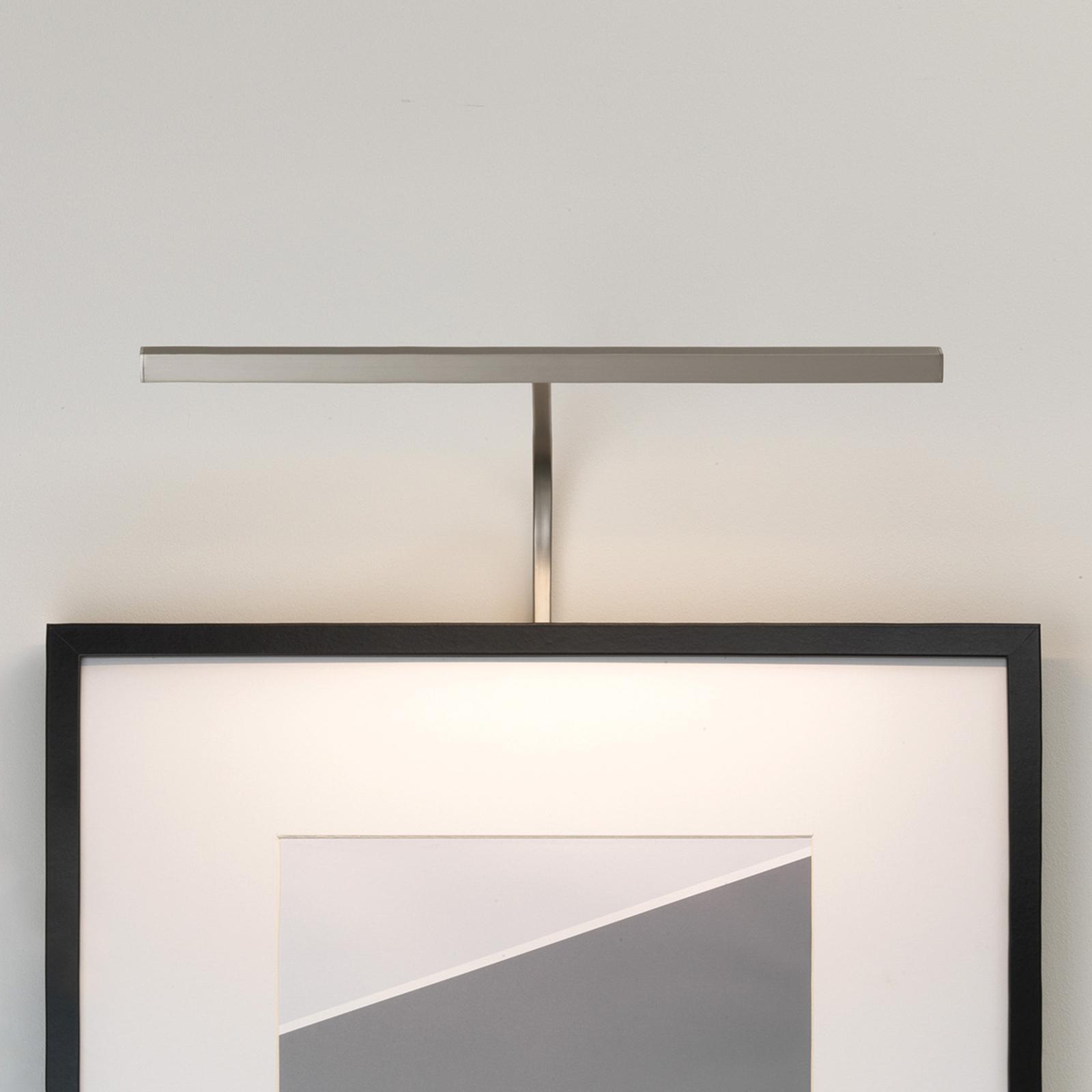 Astro Mondrian ram-vägglampa nickel 40 cm