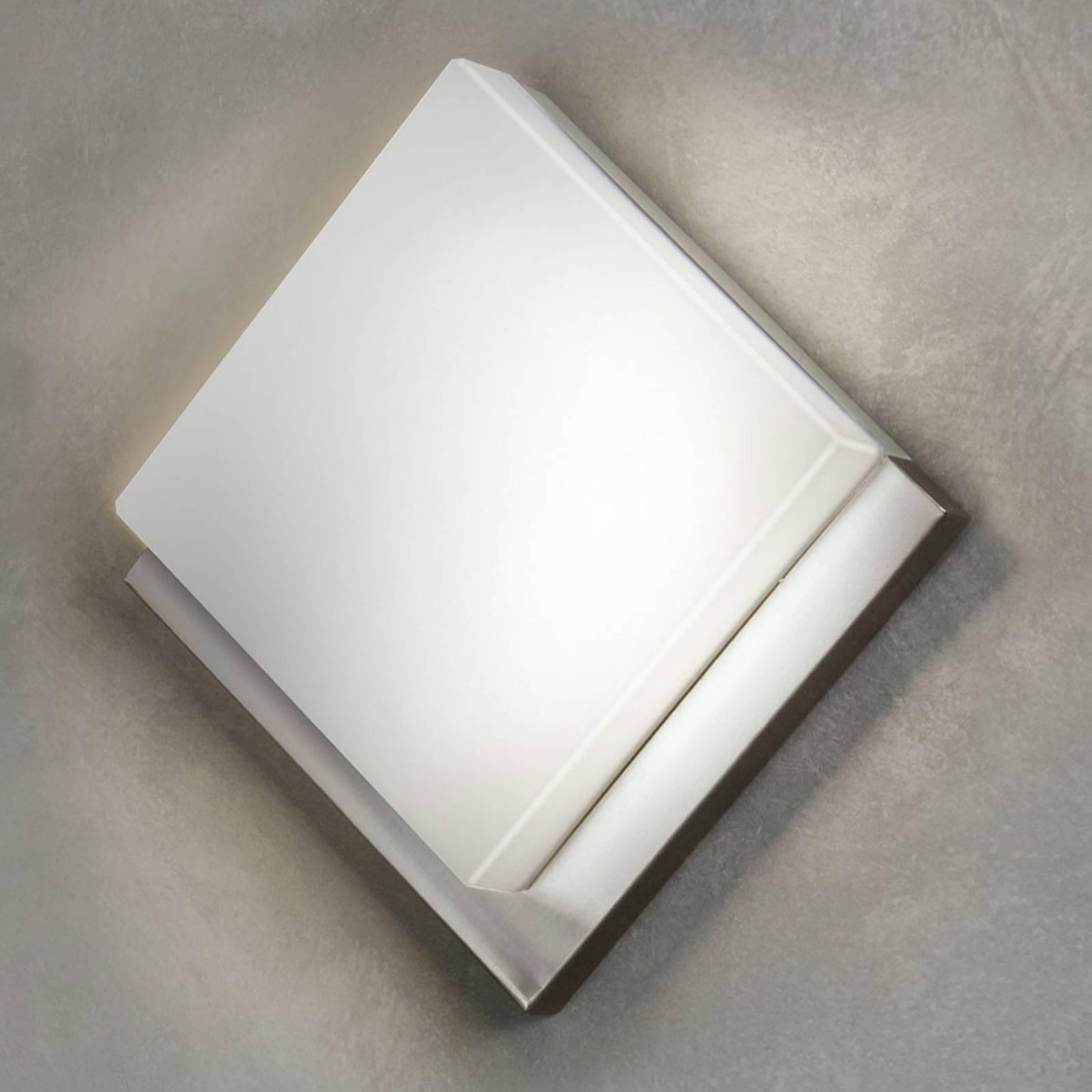 Ruitvormige LED buitenwandlamp Infesto 1