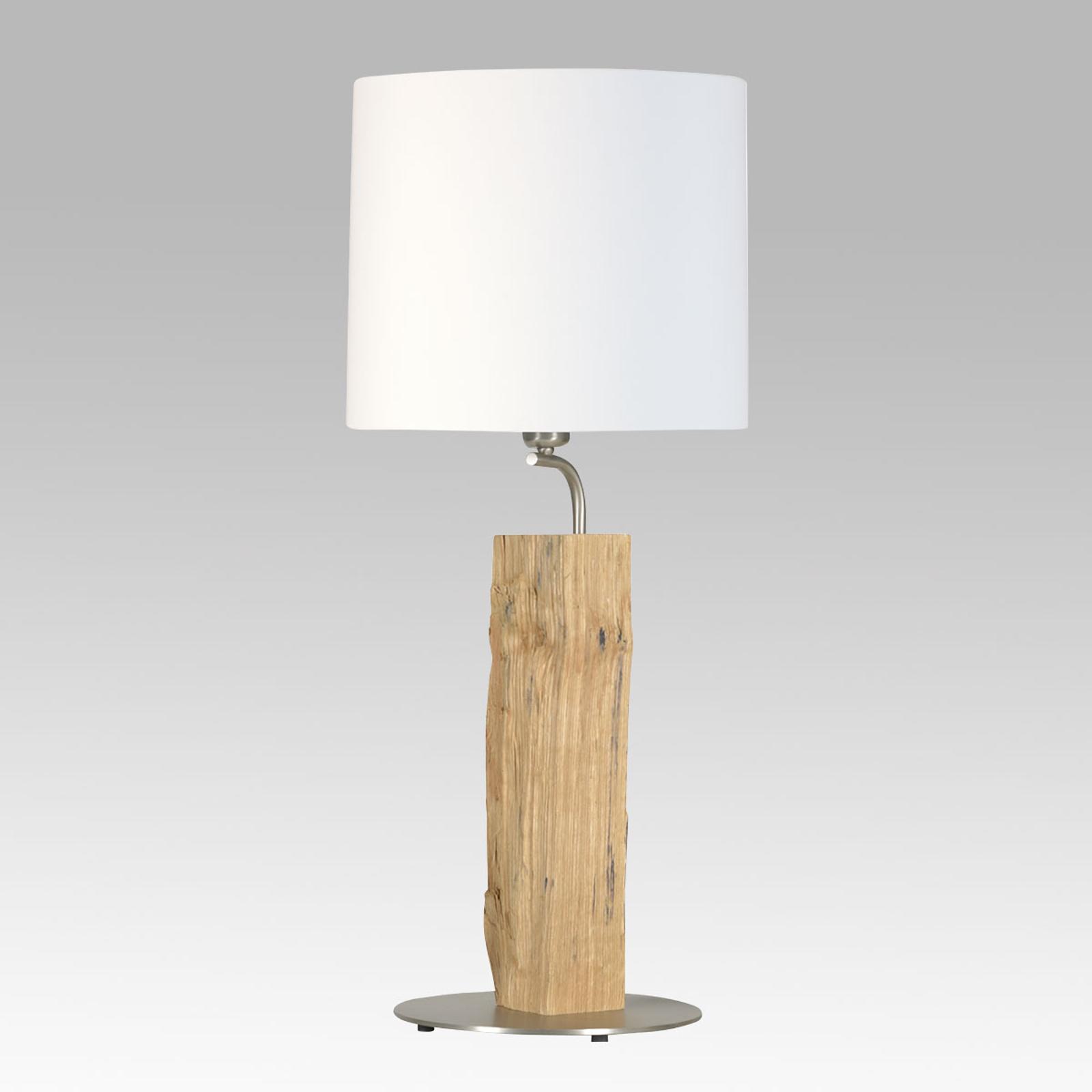 HerzBlut Neuer Kavalier bordlampe med træ, 56 cm