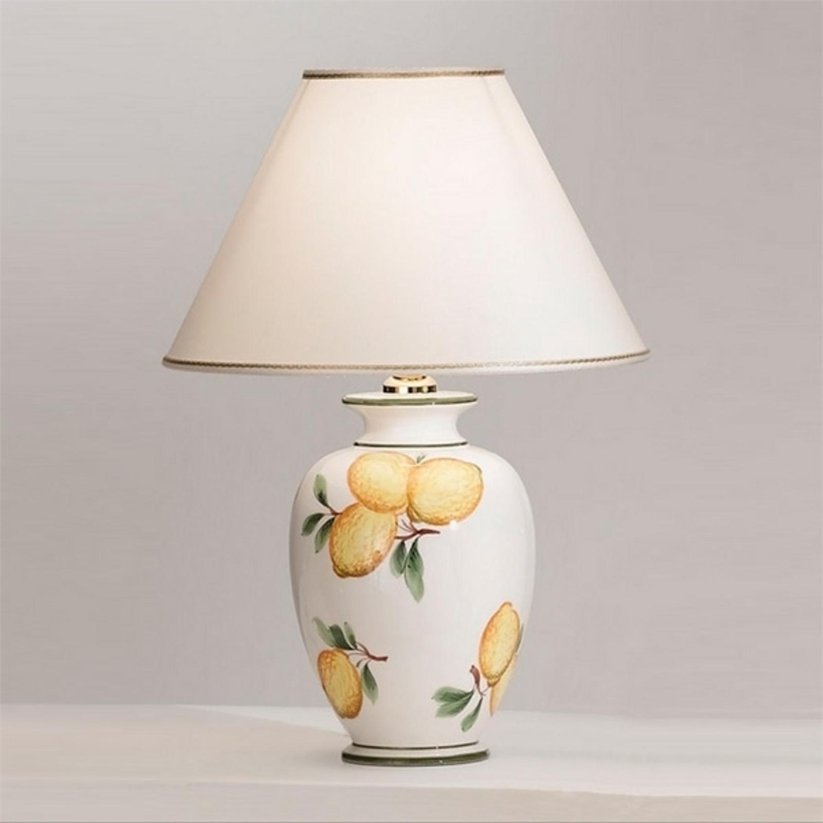 Lampada da tavolo Giardino Lemone, Ø 30 cm