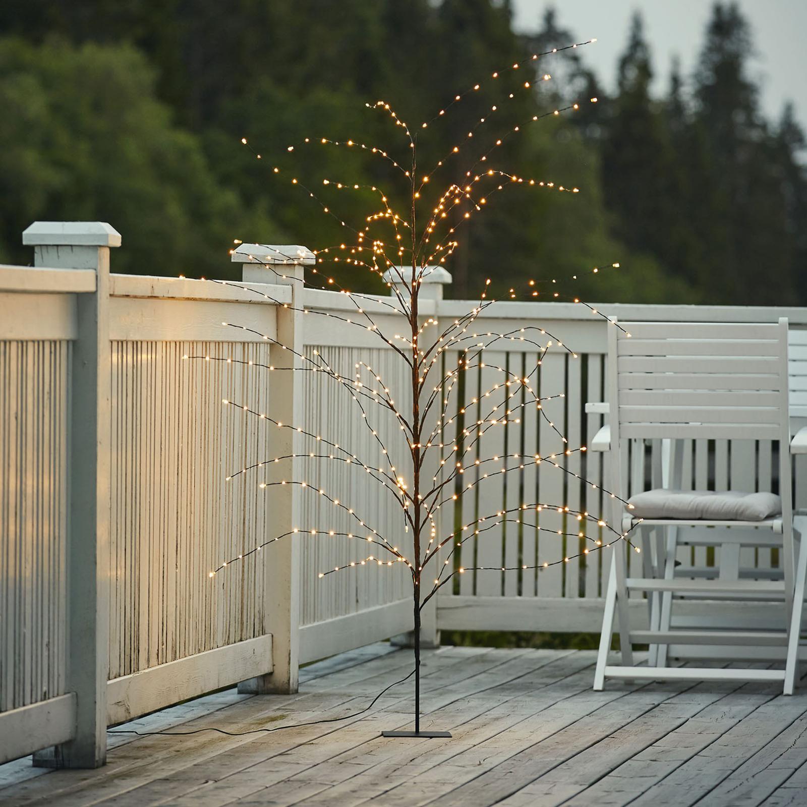 Lampada LED decorativa Reedy, alta 180 cm