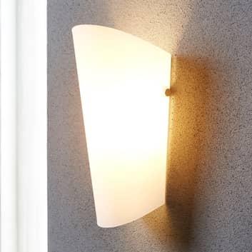 Aurora - elegancka lampa ścienna z kloszem