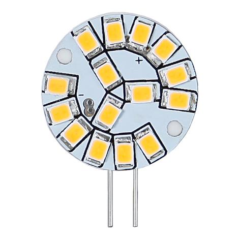 Minibombilla LED de patillas G4 12V 2W 827