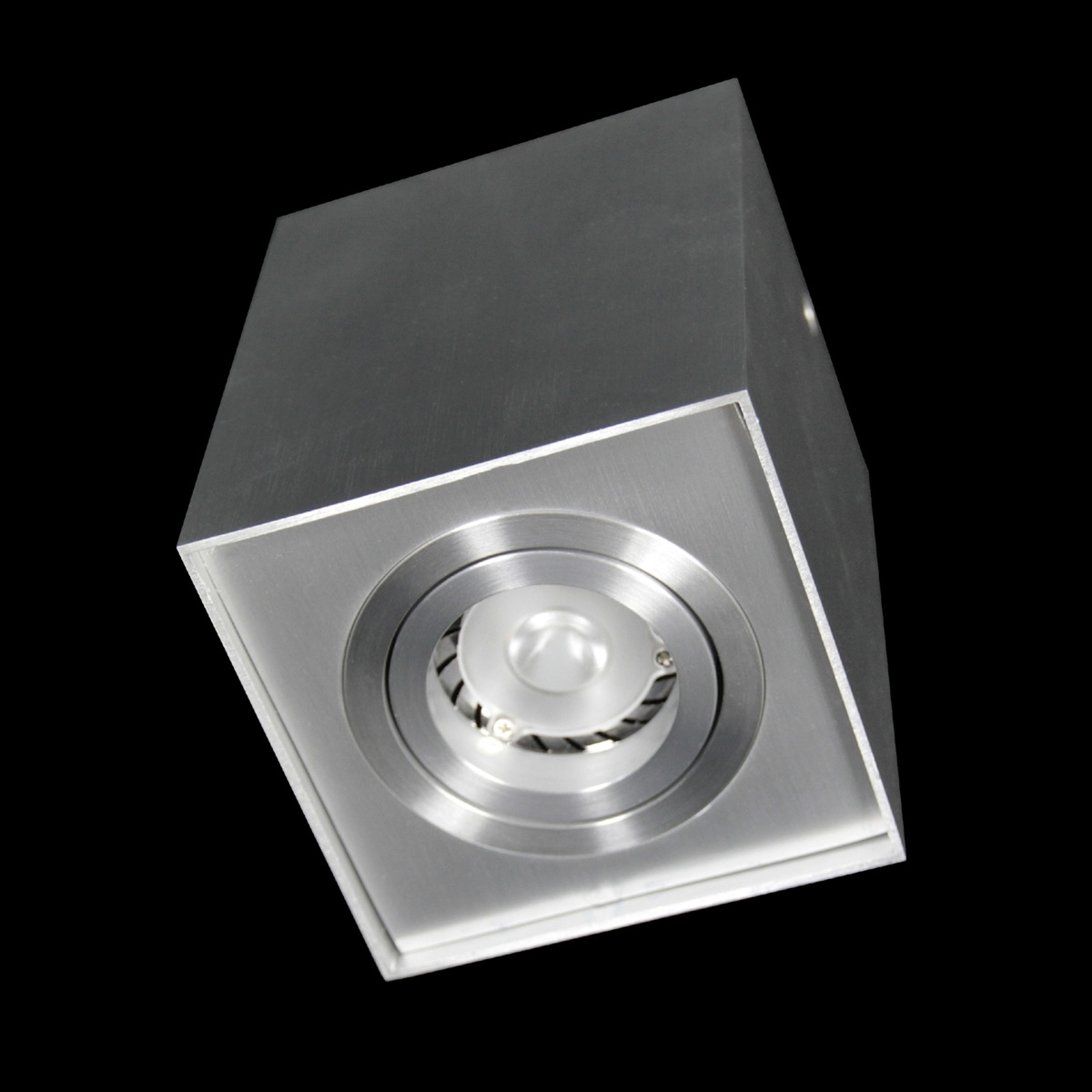 Kwadratowa lampa sufitowa LED SUSE