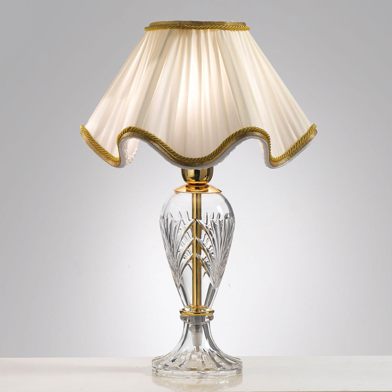 Vakker Belle Epoque bordlampe på 48 cm