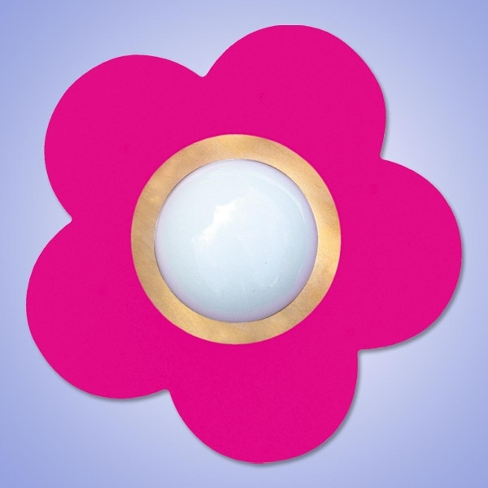 Decoratieve plafondlamp PETIT FLEUR, zuurst.