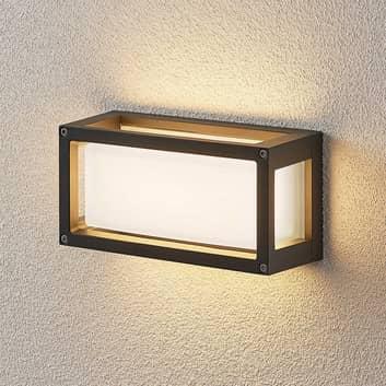 LED-ulkoseinävalaisin Harpa 25 x 12,5 cm, uraton