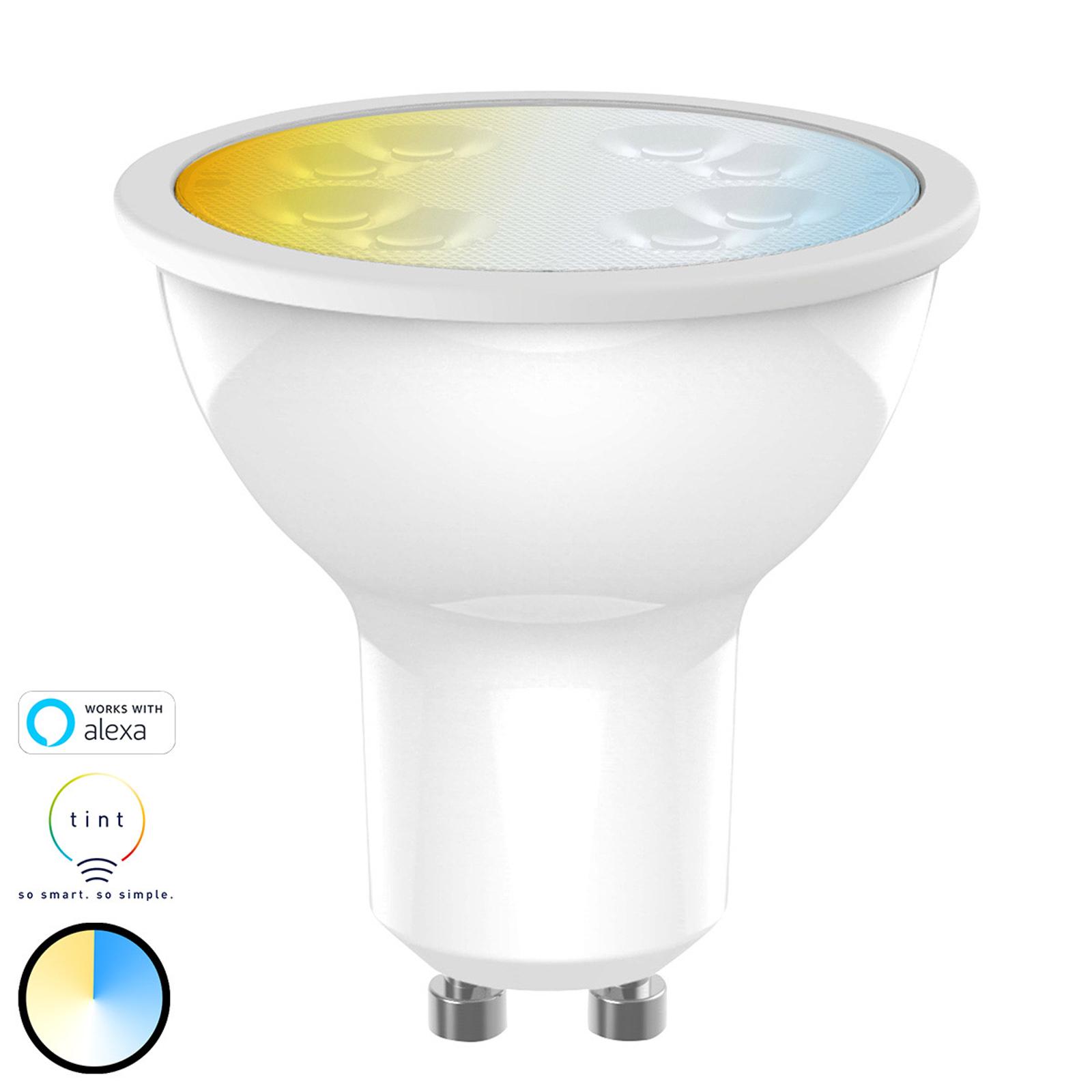 Müller Licht tint white LED riflettore GU10 5W CCT