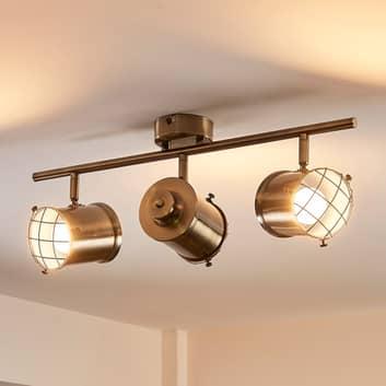 Easydim-taklampa Ebbi med LED-lampor, tre lampor