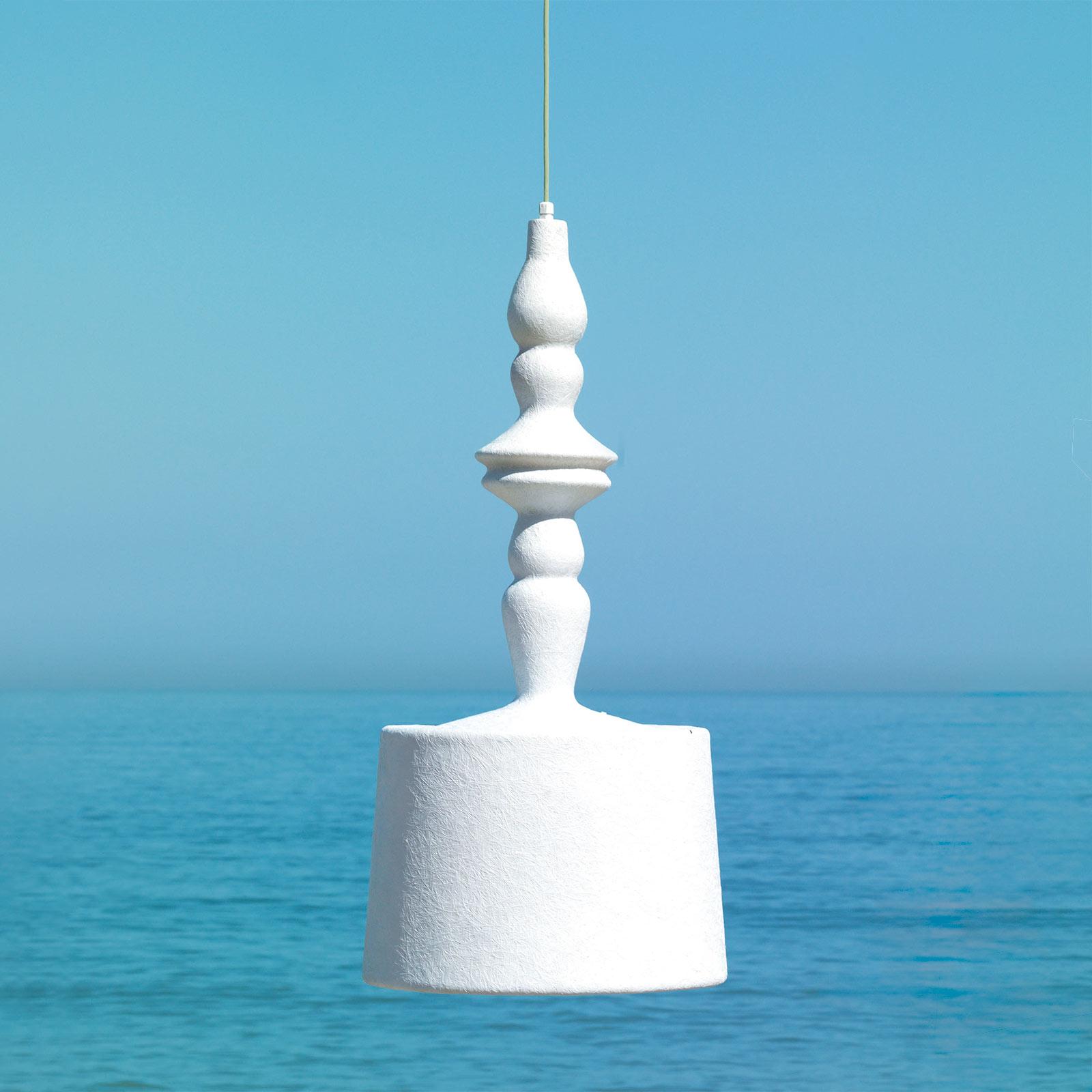 Karman Alibabig lampa wisząca zewnętrzna LED Ø50cm
