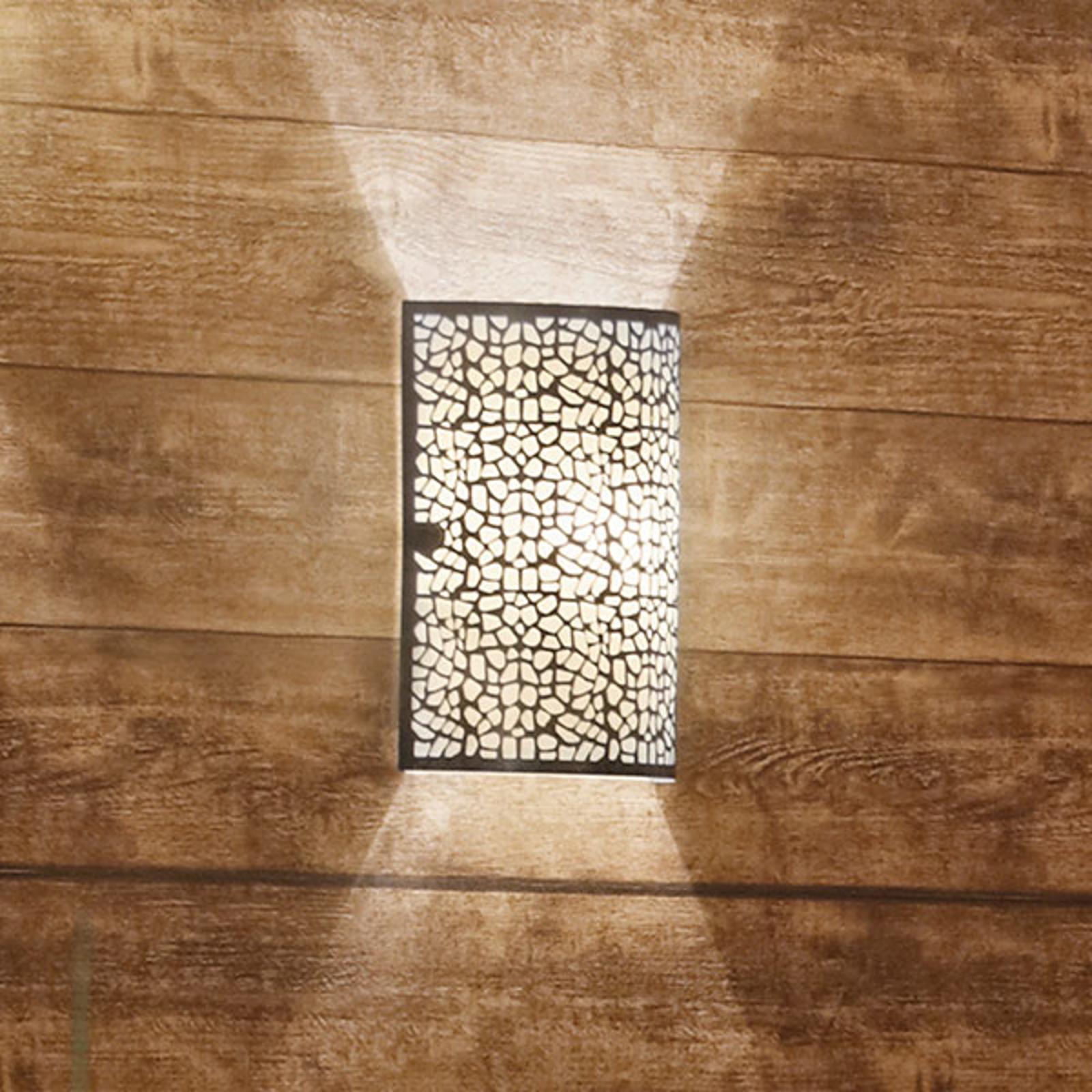 Niezwykle efektowna lampa ścienna ALMERA