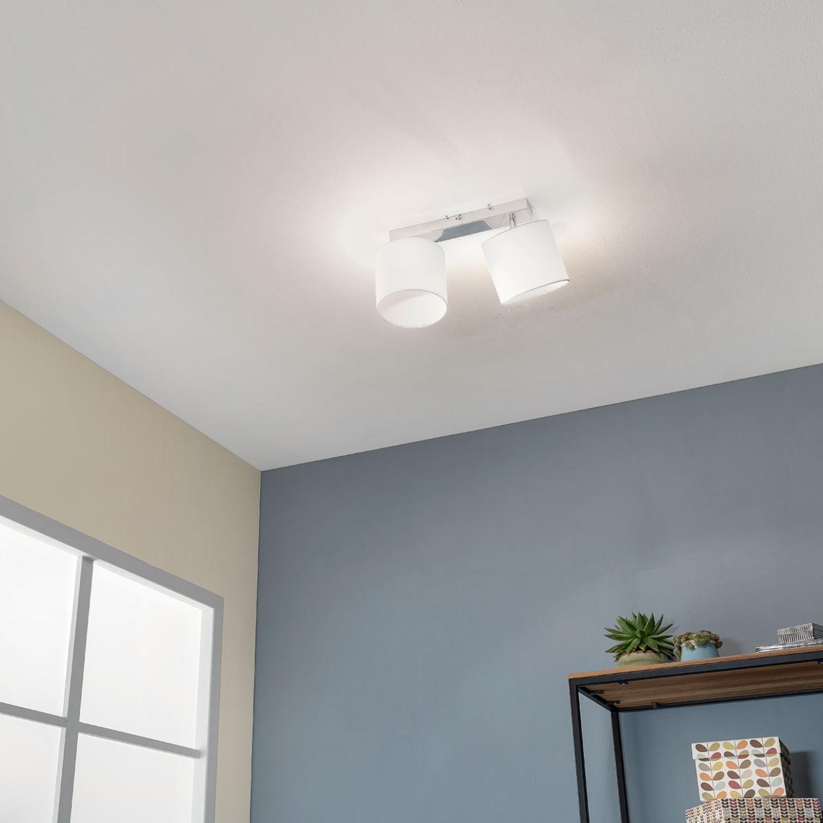 Aantrekkelijke plafondlamp Sandra 2-lamps