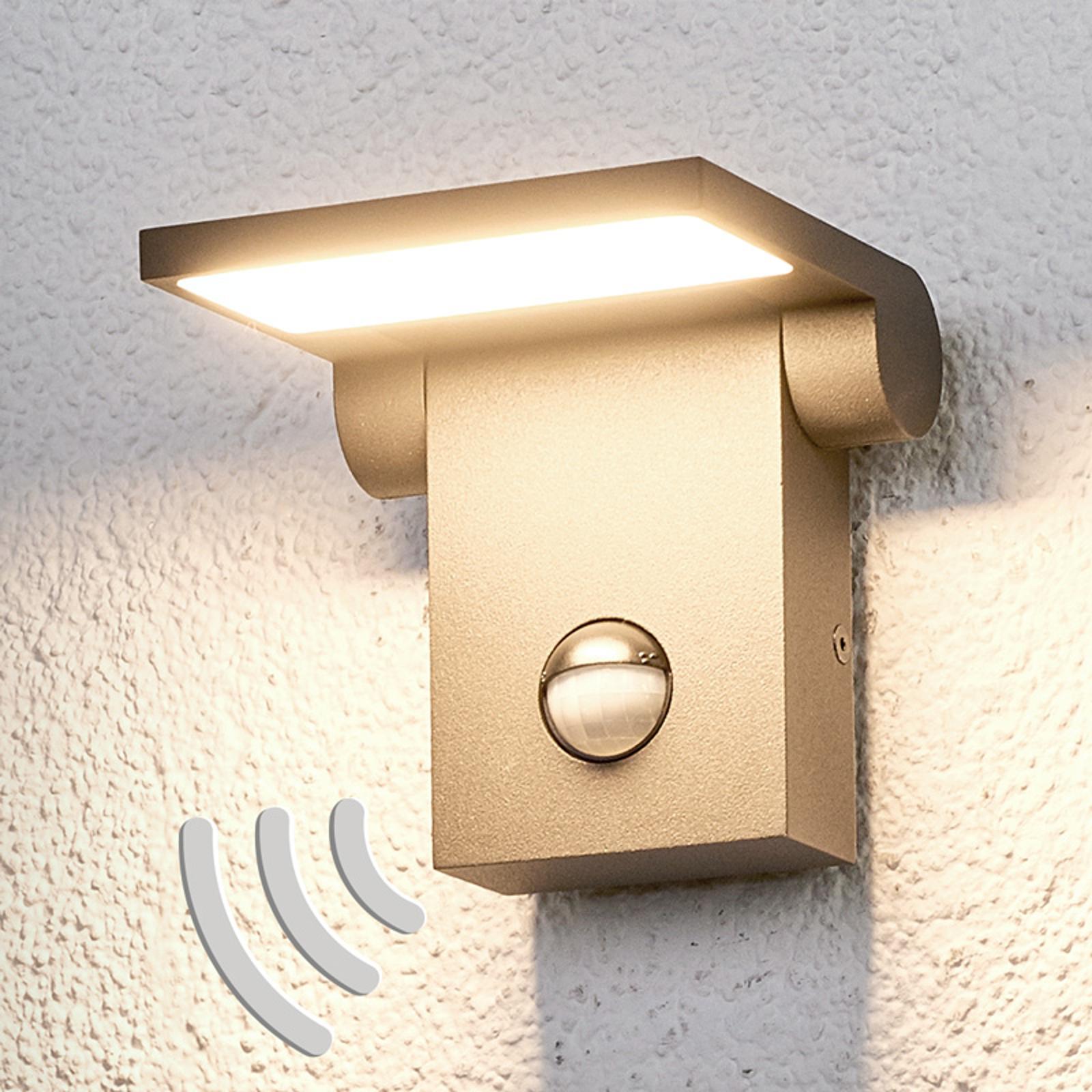 Marius - utendørs LED-vegglampe med sensor