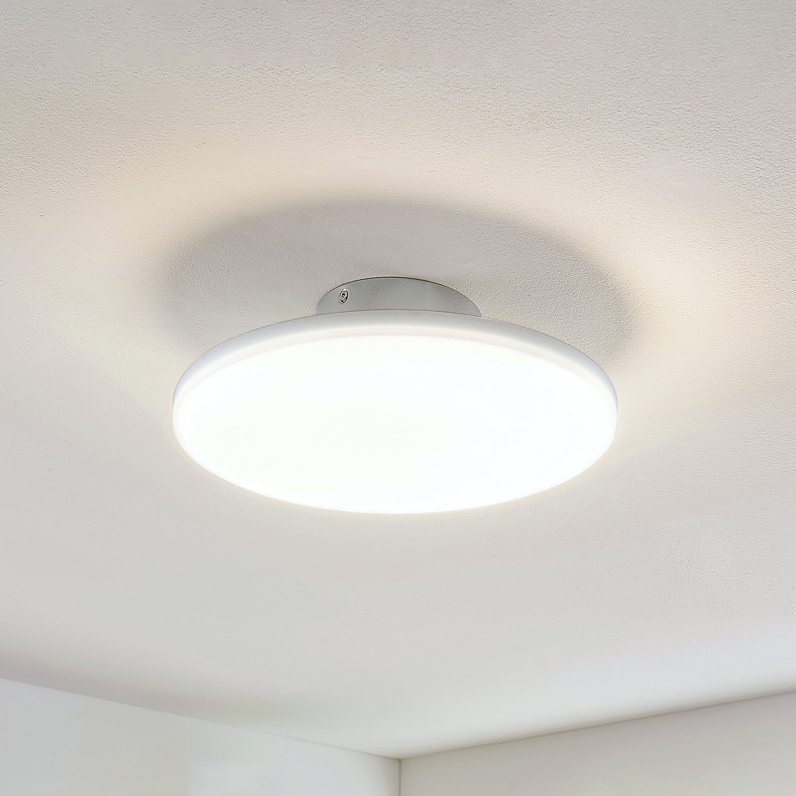 Acquista Plafoniera LED Sherko tonda, a 1 luce