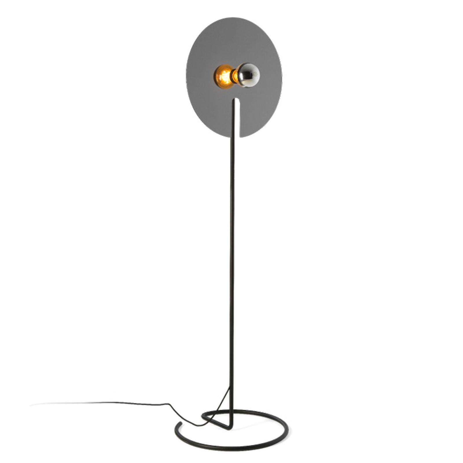 WEVER & DUCRÉ Mirro vloerlamp 2.0 zwart/chroom