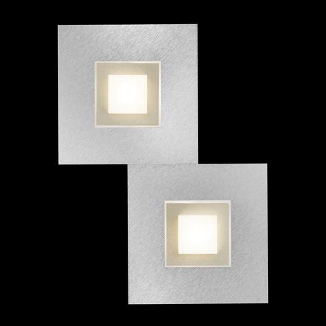 GROSSMANN Karree LED væglampe, 2 lyskilder