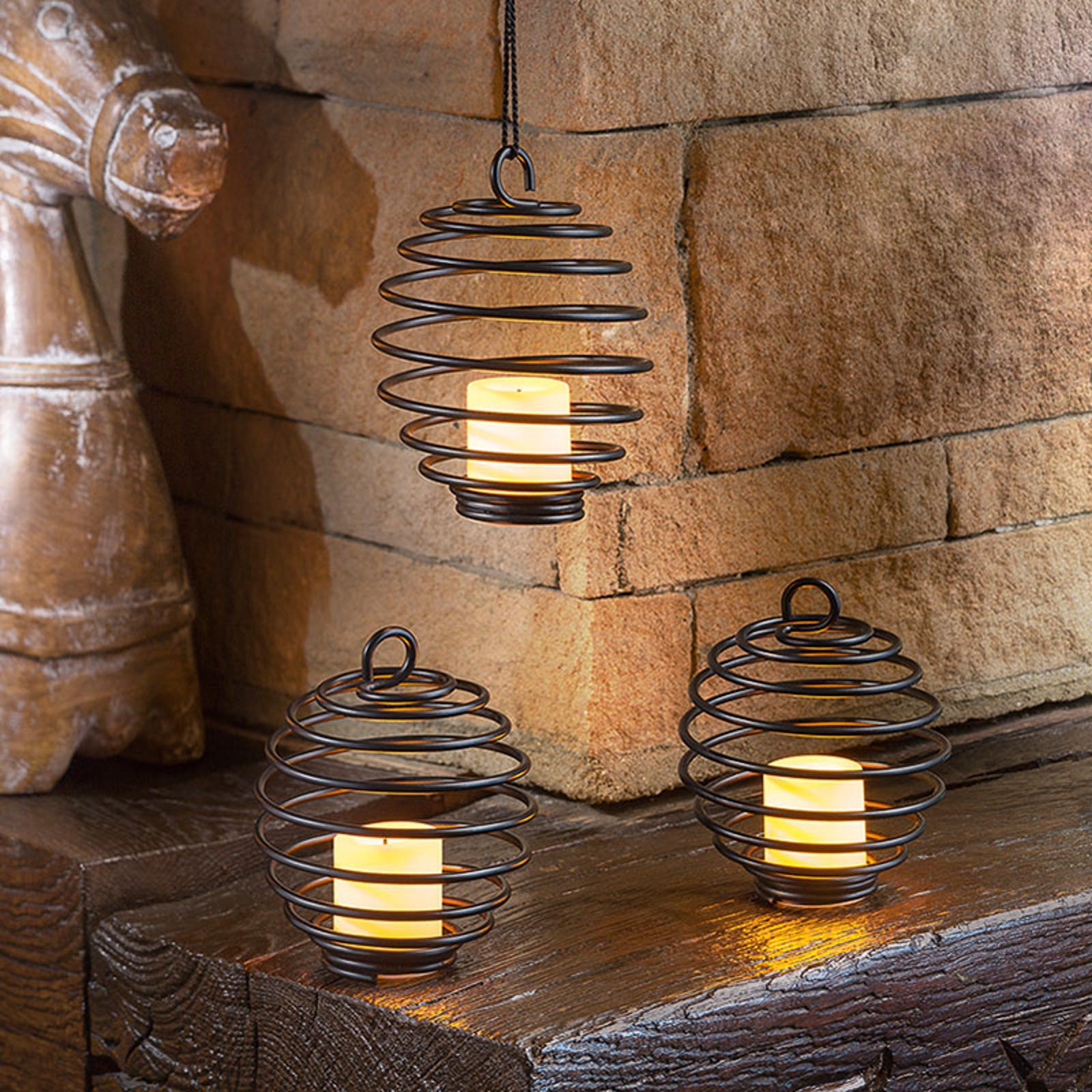 Set lampade decorative Sringfield, a batteria
