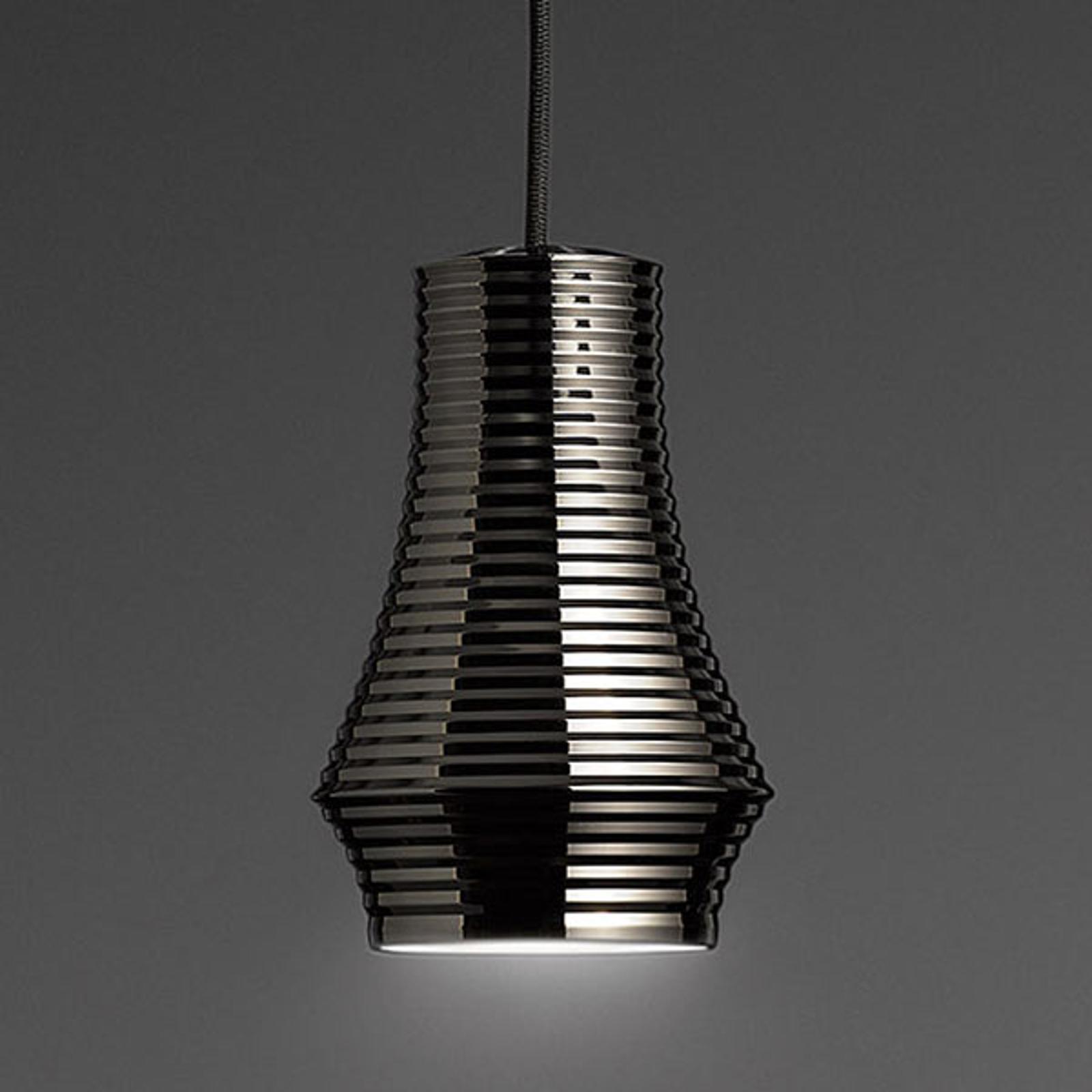 Bover Tibeta 01 - LED hanglamp, chroom-zwart