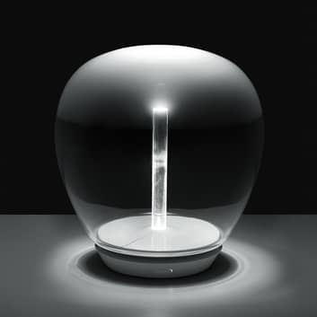 Artemide Empatia szklana lampa stołowa LED
