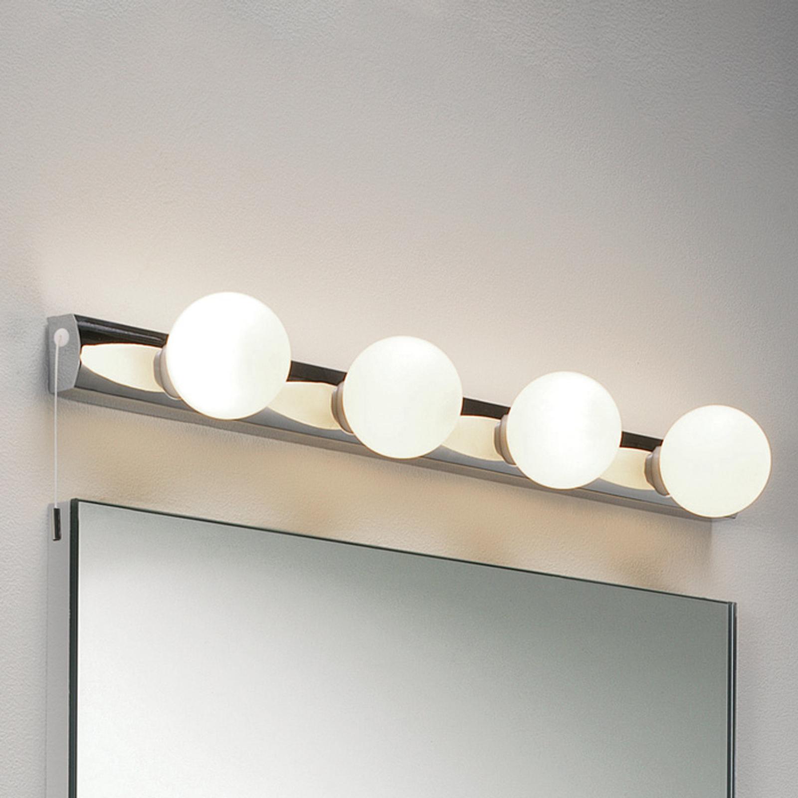 Aantrekkelijke wandlamp CABARET met trekschakelaar