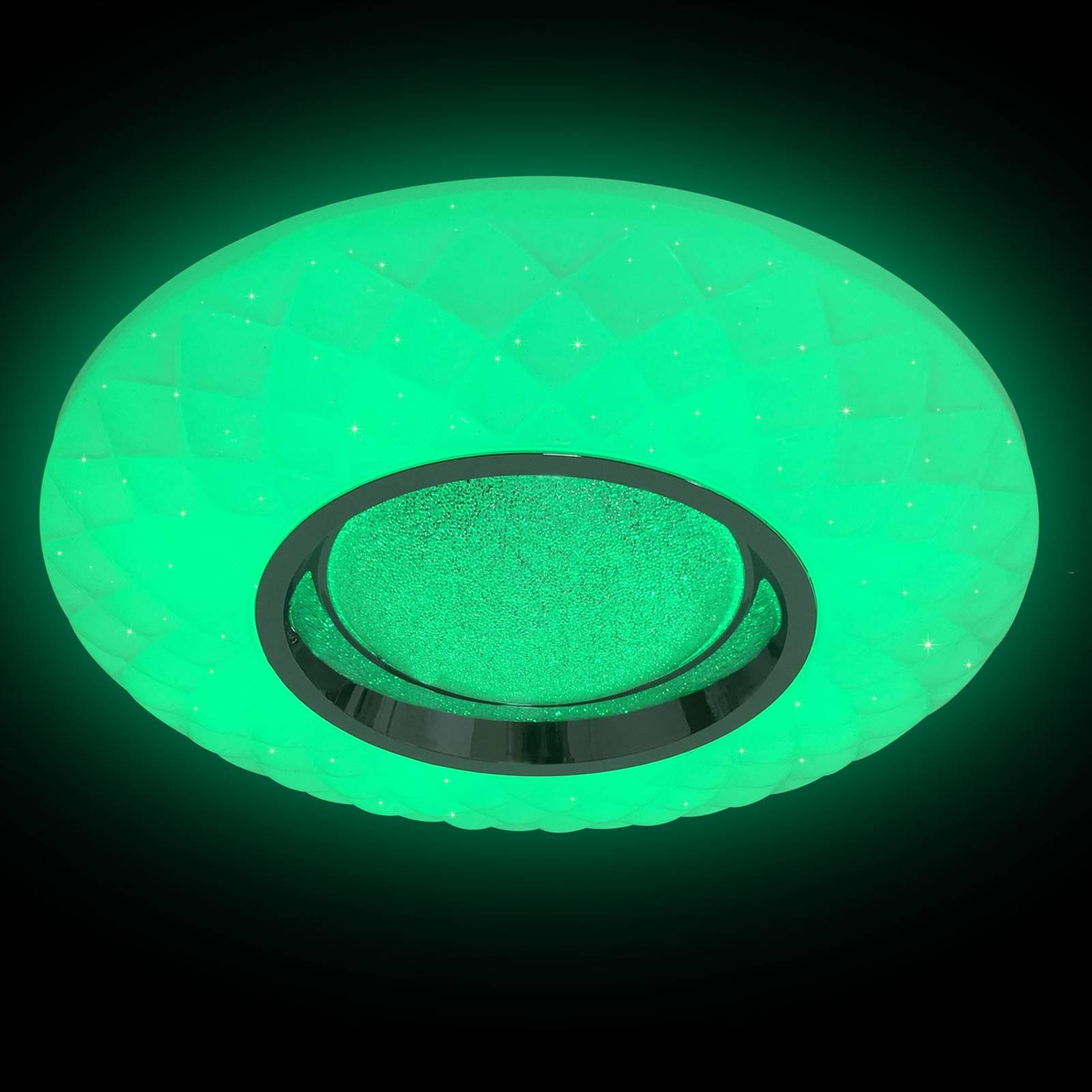 Lindby Illaria lampa sufitowa LED, RGBW, CCT 39 cm