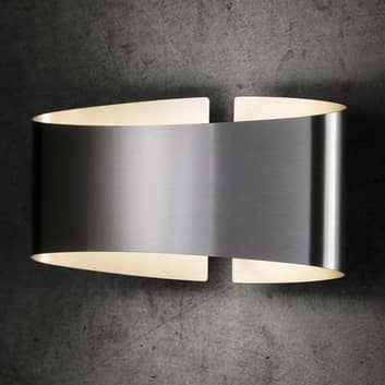 Holtkötter Voilà aplique LED, acero inoxidable