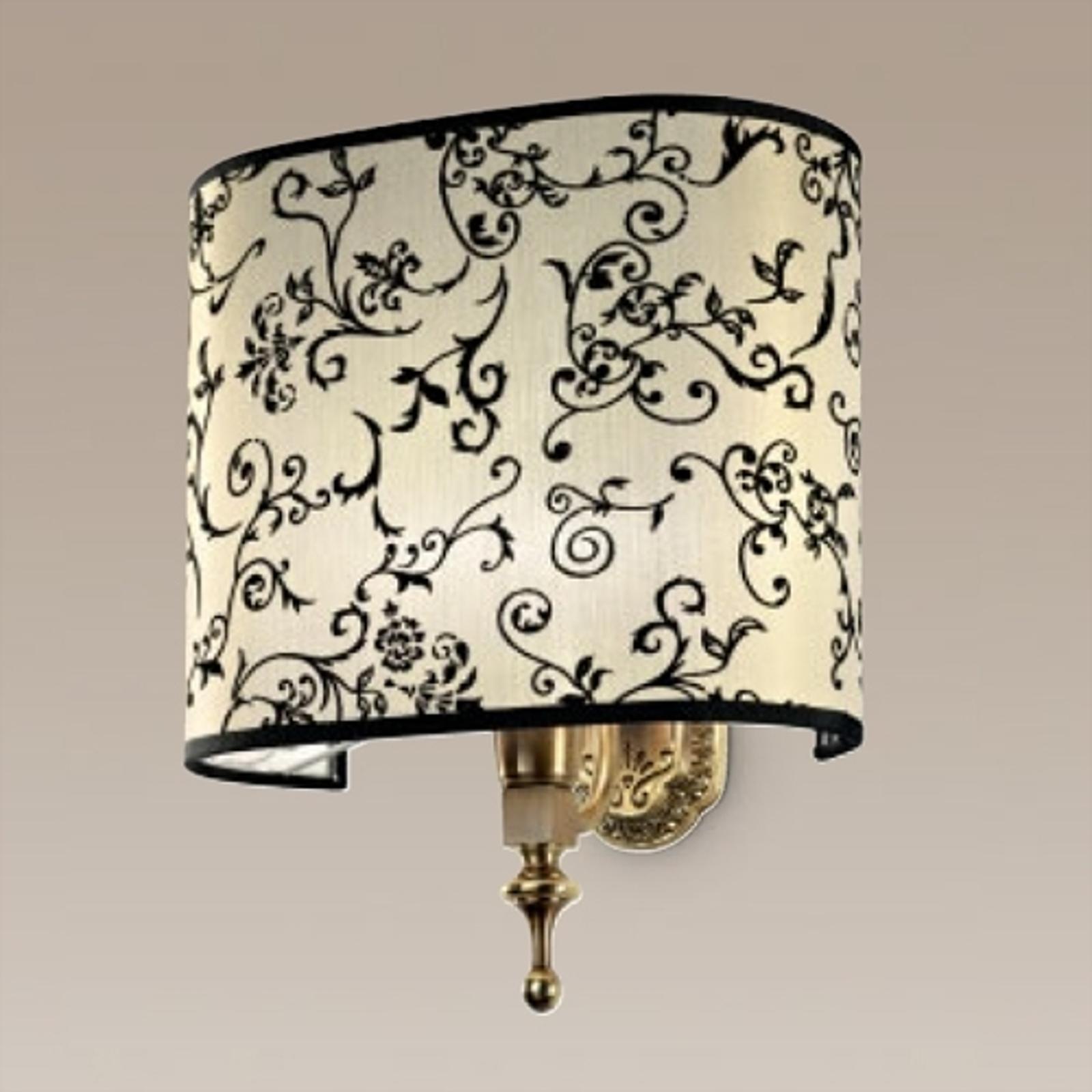 Klasyczna lampa ścienna Laguna