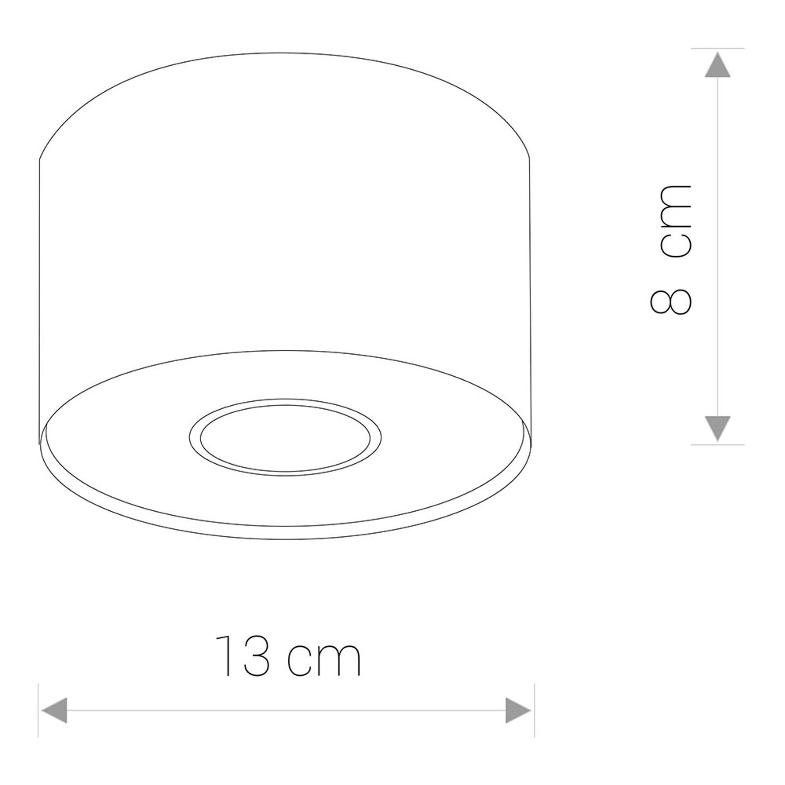 Billede af Point S loftspot i cylindrisk form, grafit