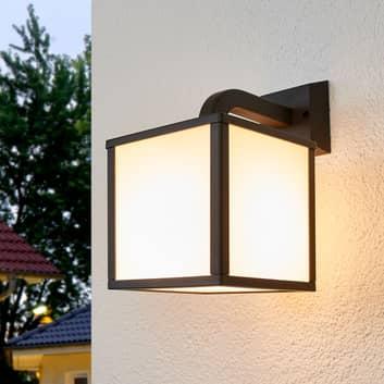 Cubango udendørs LED-væglampe, en kubeformet skærm